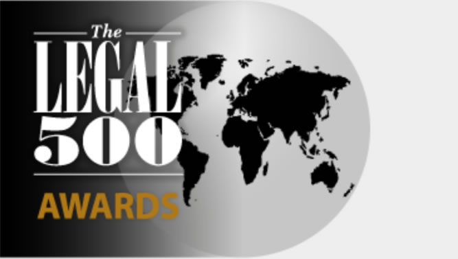 Match shortlisted for prestigious Legal 500 Awards