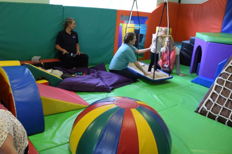 Match Solicitors sponsor a childrens soft play area