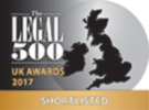 Match Solicitors were shortlisted for prestigous Legal 500 award